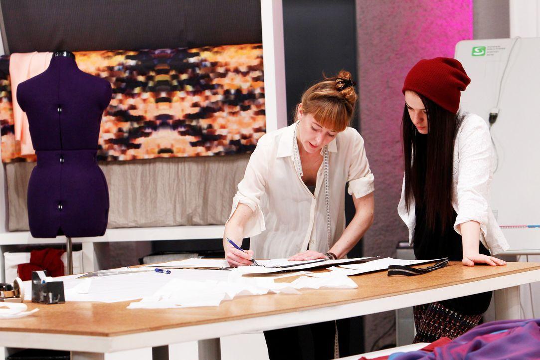 Fashion-Hero-Epi01-Atelier-01-ProSieben-Richard-Huebner - Bildquelle: ProSieben / Richard Huebner