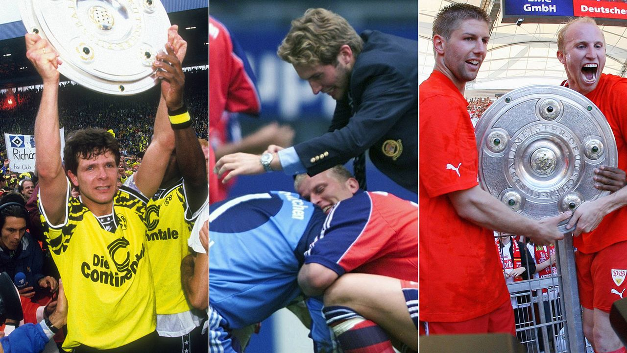Die spannendsten Titel-Entscheidungen der Bundesliga - Bildquelle: Imago