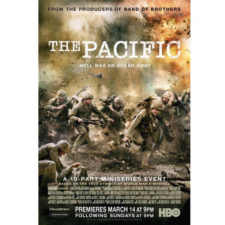 """The Pacific"" erzählt die Geschichte dreier US-Marines im Pazifikkrieg gegen Japan während des Zweiten Weltkriegs. - Bildquelle: Home Box Office Inc. All Rights Reserved."