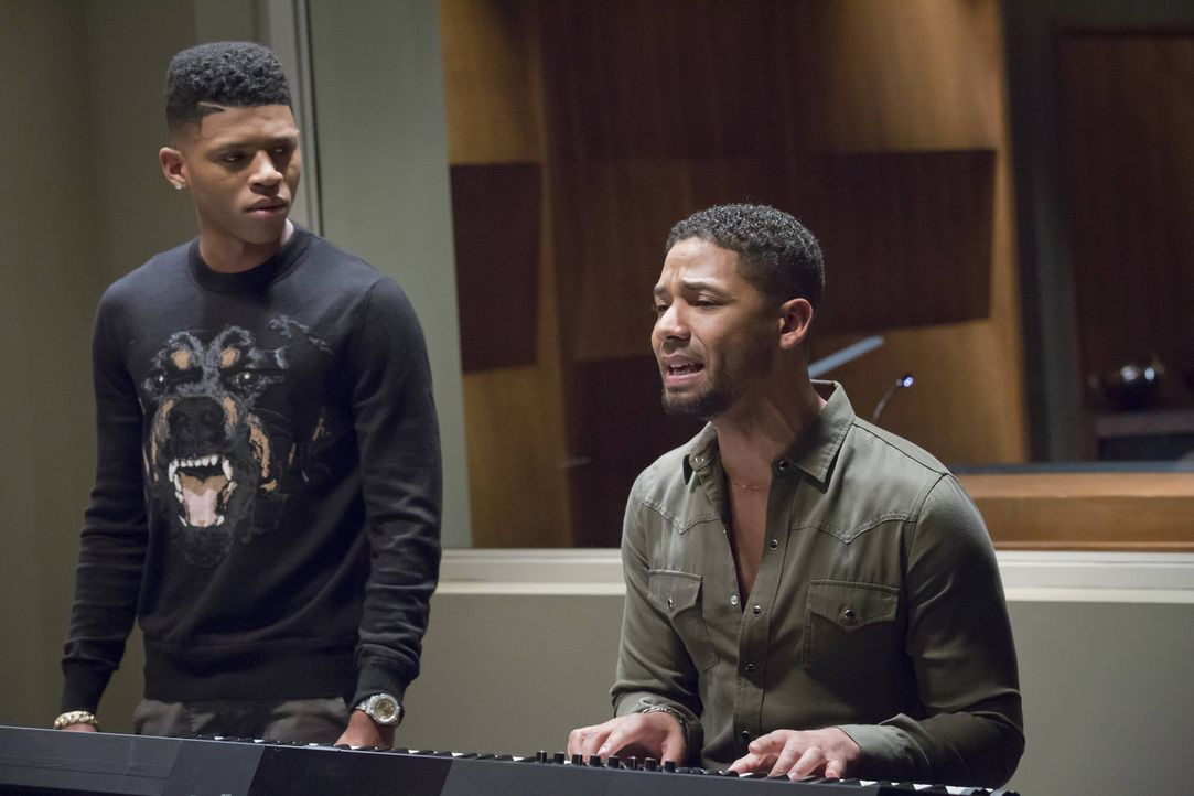 Als ihr Bruder immer mehr abdriftet, versuchen Jamal (Jussie Smollett, r.) und Hakeem (Bryshere Y. Gray, l.), ihn mit einem Song zu beruhigen. Doch... - Bildquelle: Chuck Hodes 2015-2016 Fox and its related entities.  All rights reserved.