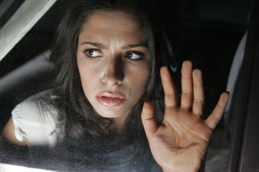 """Auf der Suche nach ihren Vater, stoßen Dean und Sam auf """"Die Frau in weiss"""" (Sarah Shahi) ... - Bildquelle: Warner Bros. Television"""