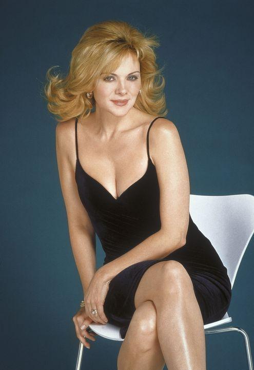 (4. Staffel) - Samantha (Kim Cattrall) liebt Männer und guten Sex. Laut eigener Einschätzung hat Samantha bereits mit ganz Manhattan geschlafen. - Bildquelle: Paramount Pictures
