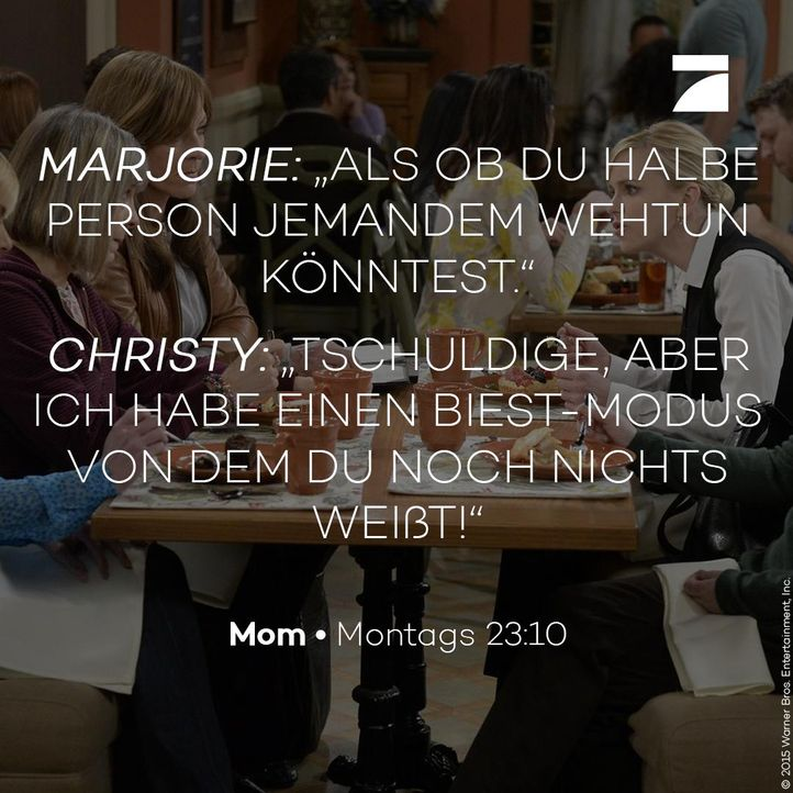 Marjorie und Christy - Staffel 3 Episode 18 - Bildquelle: 2016 Warner Bros. Entertainment, Inc.