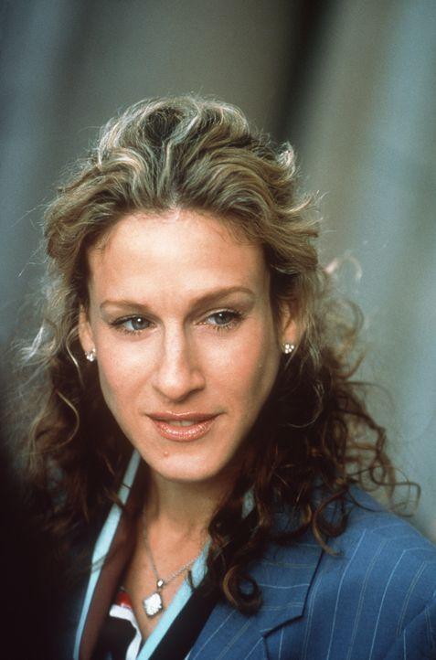 Auf Carries (Sarah Jessica Parker) Anraten hin versucht Miranda, eine Liste aller Pros und Kontras bezüglich Steve aufzustellen ... - Bildquelle: Paramount Pictures