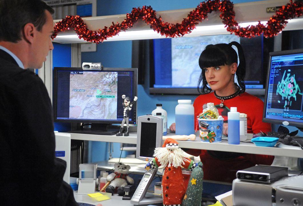 Versuchen einen neuen Fall zu lösen: Abby (Pauley Perrette, r.) und McGee (Sean Murray, l.) ... - Bildquelle: CBS Television