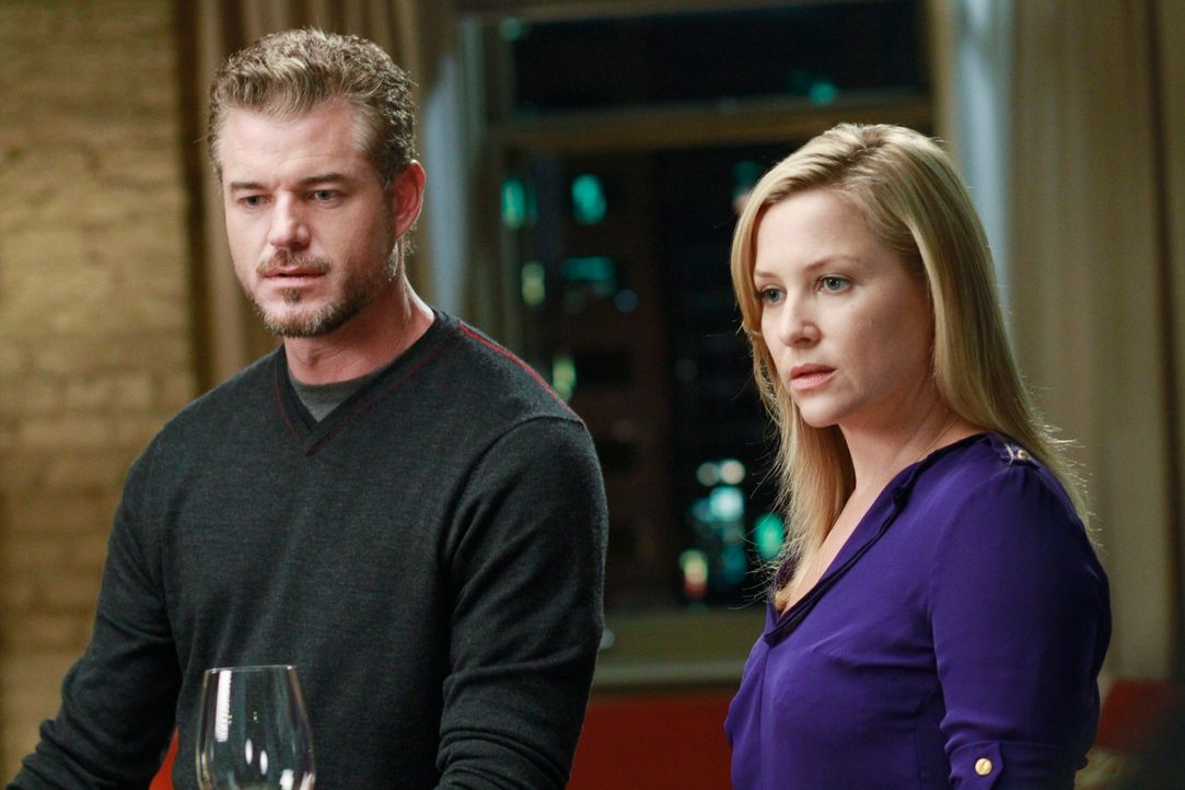 Callies Wunsch nach einer Freundschaft zwischen Marc (Eric Dane, l.) und Arizona (Jessica Capshaw, r.) erweist sich als verwirrend und sie ist gener... - Bildquelle: ABC Studios
