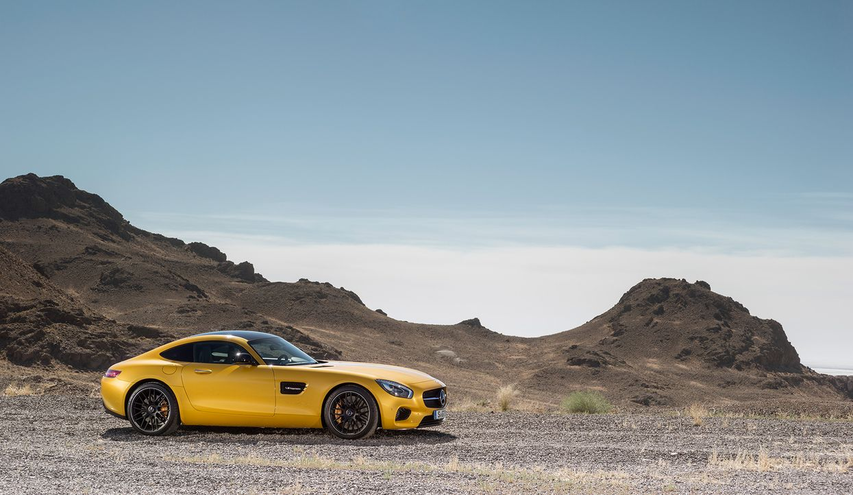 Mercedes AMG GT (16) - Bildquelle: press photo, do not use for advertising purposes