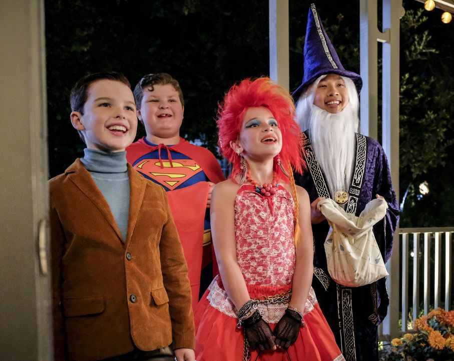 (v.l.n.r.) Sheldon (Iain Armitage); Billy (Wyatt McClure); Missy (Raegan Revord); Tam (Ryan Phuong) - Bildquelle: Darren Michaels 2018 WBEI. All rights reserved./Darren Michaels