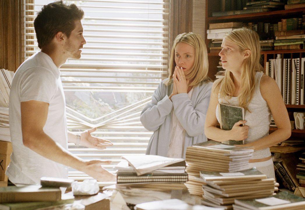 Rechne mit allem. Aber glaube nicht, du hast die Lösung: Catherine (Gwyneth Paltrow, r.), Hal (Jake Gyllenhaal, l.) und Claire (Hope Davis, M.) ... - Bildquelle: 2003 Miramax Films. All Rights Reserved.