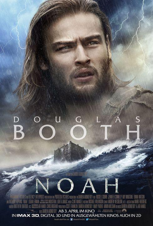 Noah Character Poster - Douglas Booth - Bildquelle: Paramount