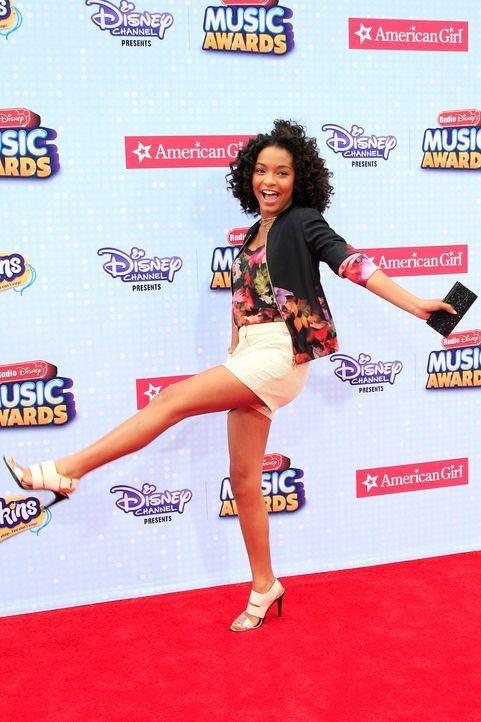 Radio-Disney-Music-Awards-150426-Yara-Shahidi-07-dpa - Bildquelle: dpa