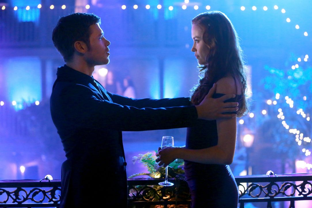 Genevieve und Klaus auf der Party