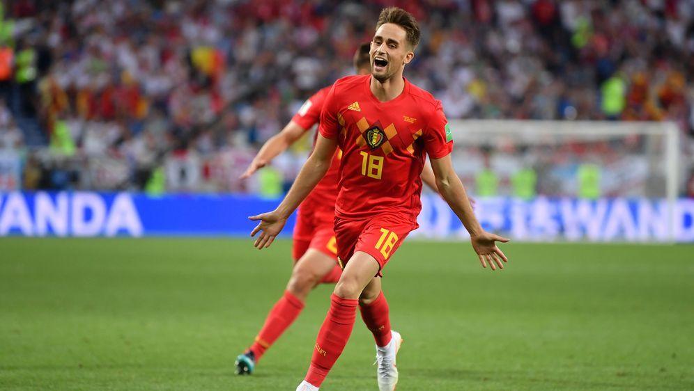 Belgien gewinnt das Top-Duell gegen England durch das Tor von Adnan Januzaj. - Bildquelle: getty