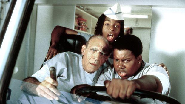 Den dicken Dexter (Kenan Thompson, r.) und den durchgeknallten Ed (Kel Mitche...