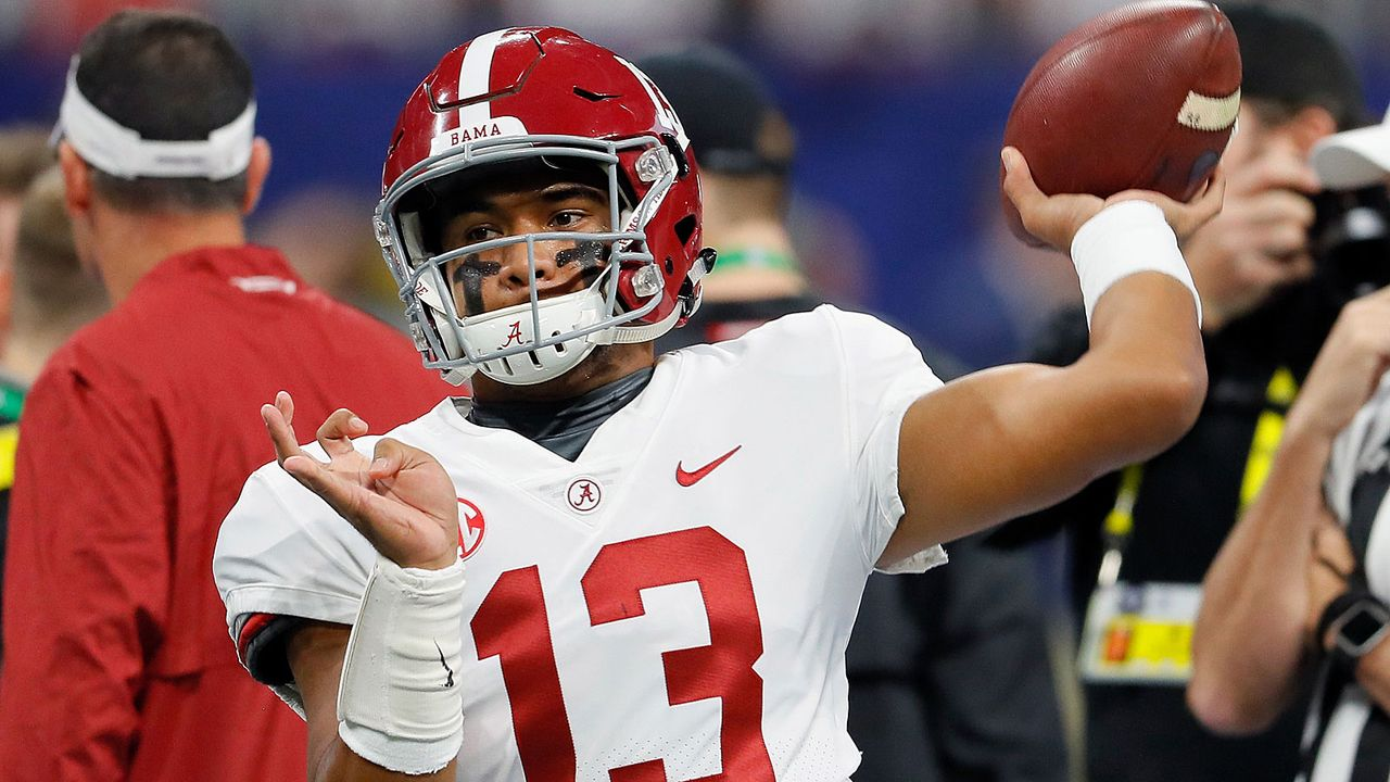Tua Tagovailoa (Alabama Crimson Tide) - Bildquelle: 2018 Getty Images