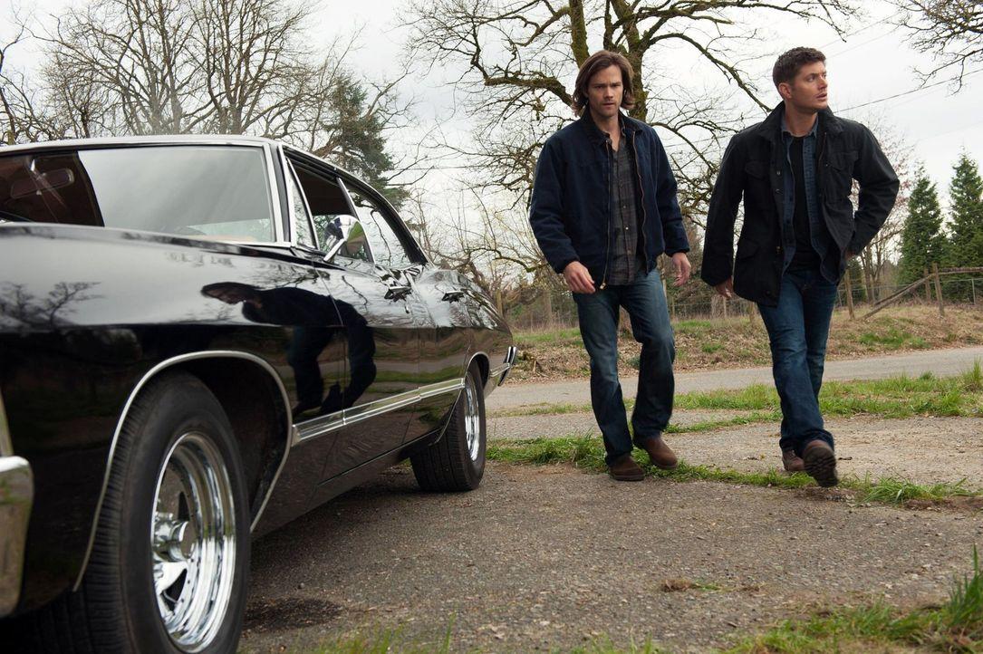 Die Informationen, die Sam (Jared Padalecki, l.) und Dean (Jensen Ackles, r.) von einem alten Pater bekommen, bringen das ganze Bild von Gut und Bös... - Bildquelle: Warner Bros. Television