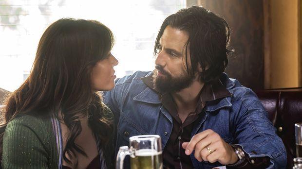 Sind sich in ihrer Zukunftsplanung nicht ganz einig: Rebecca (Mandy Moore, l....