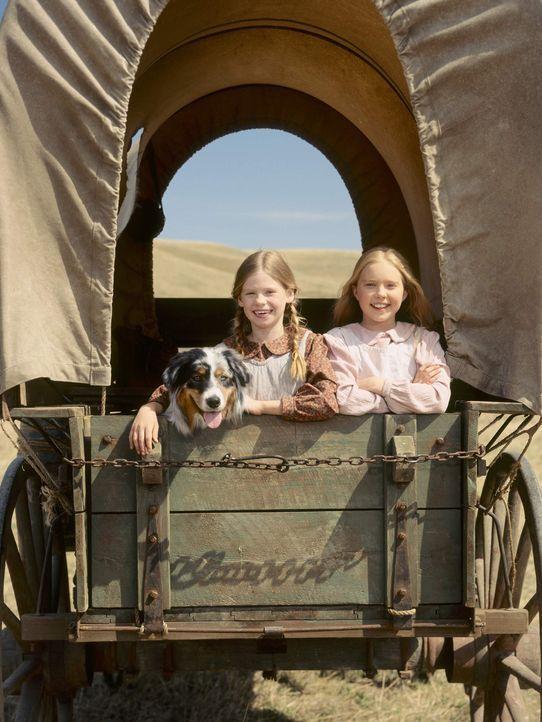 In der Hoffnung auf eine bessere Zukunft packt Zimmermann Charles Ingalls eines Tages seine Frau und die beiden Töchter Mary (Danielle Chuchran, r.... - Bildquelle: ABC, Inc.