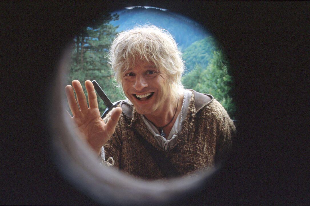 Auf der Suche nach seiner Traumfrau Kriemhild: Als Siegfried (Tom Gerhardt) bei der Burg ankommt, lässt man ihn nicht hinein, doch das ist für ihn... - Bildquelle: Constantin Film
