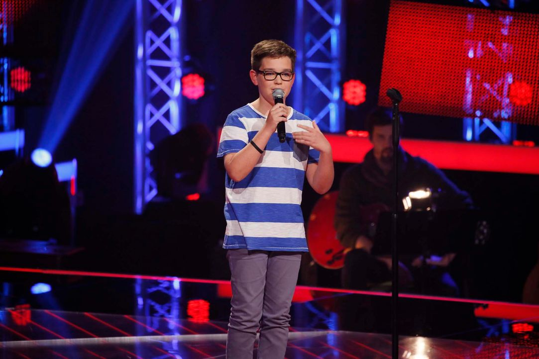 The-Voice-Kids-Stf04-Epi04-Danach-Maxime-34-SAT1-Richard-Huebner - Bildquelle: © SAT.1/ Richard Hübner