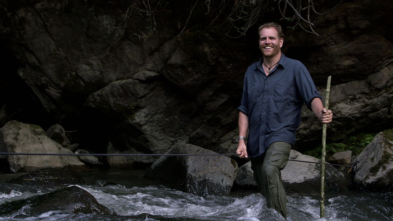 "Josh Gates' neues Abenteuer führt ihn durch tropische Wälder und Inka-Ruinen. Denn er will Eldorado finden, die berühmte ""Stadt aus Gold"" ... - Bildquelle: 2015, The Travel Channel, L.L.C. All Rights Reserved."
