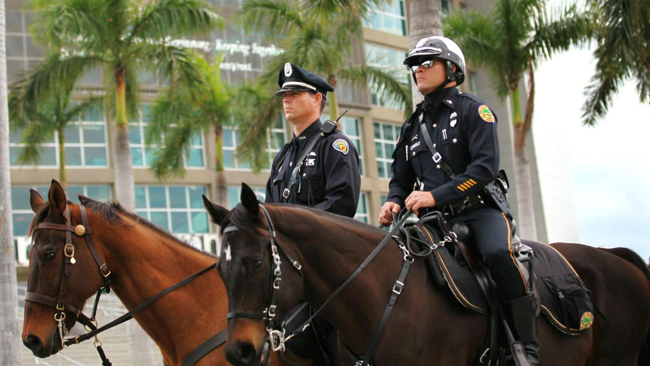 Miami Police 1 - Bildquelle: getty AFP