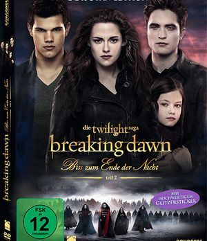 Breaking Dawn DVD Cover