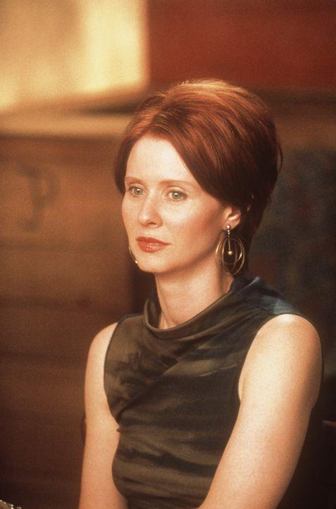 Miranda (Cynthia Nixon) hat Verständnis für Fehlwürfe ... - Bildquelle: Paramount Pictures