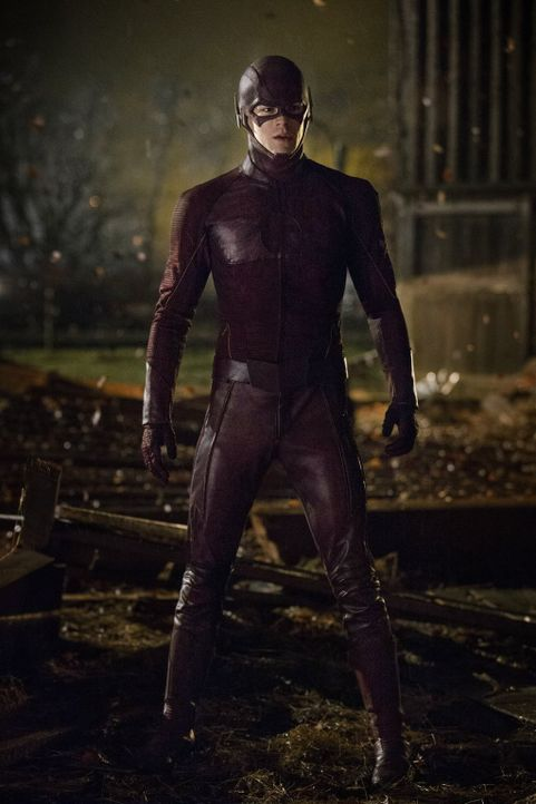 "Vom Wissenschaftler zum Superhelden: Barry Allen alias ""The Flash"" (Grant Gustin)  ... - Bildquelle: Warner Brothers."
