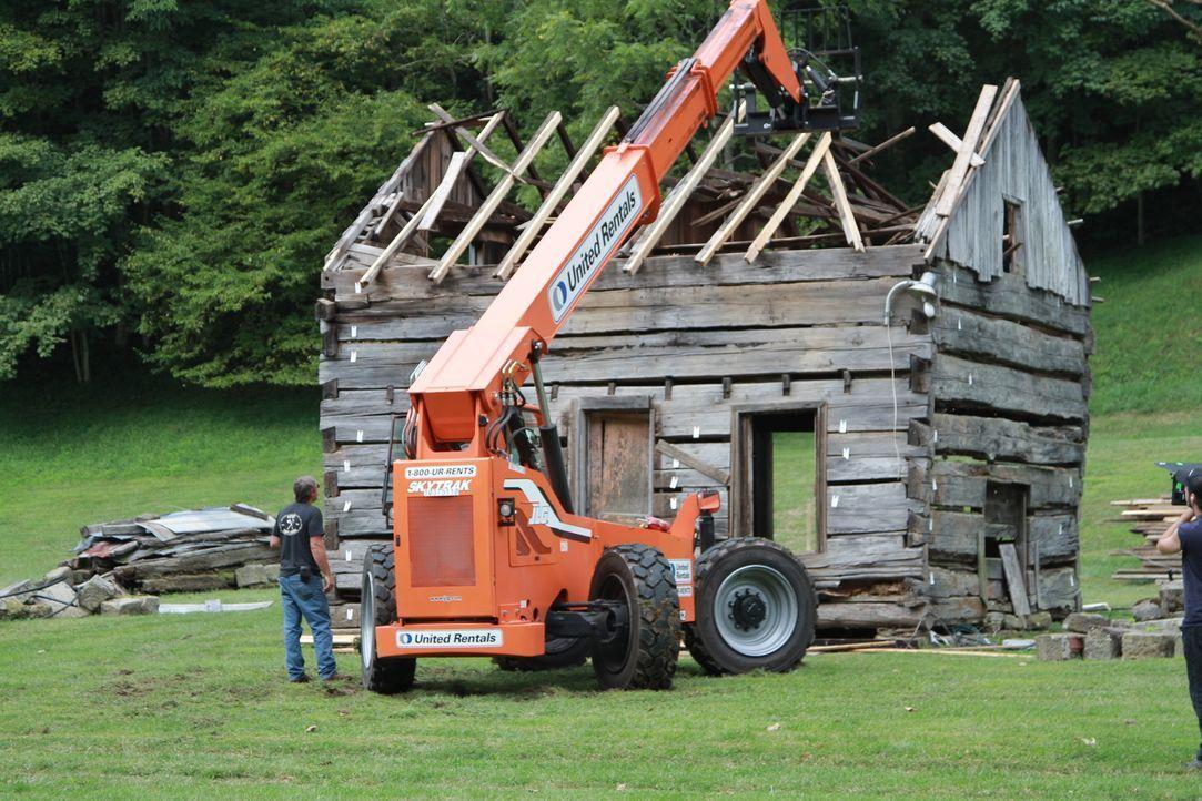 Die Stadt Roanoke existiert schon lange nicht mehr, dennoch wolle die Scheunenprofis eine historische Hütte aus dieser Zeit am Leben erhalte ... - Bildquelle: 2015, DIY Network/Scripps Networks, LLC. All Rights Reserved.