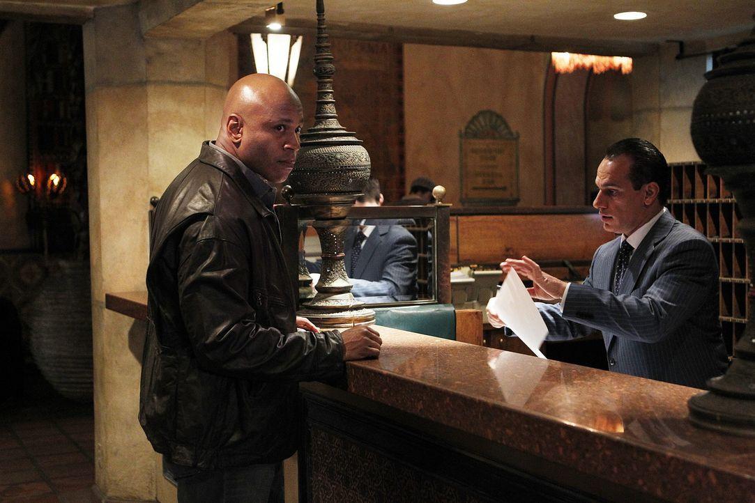 Ein neuer Fall beschäftigt Sam (LL Cool J, l.) und seine Kollegen ... - Bildquelle: CBS Studios Inc. All Rights Reserved.