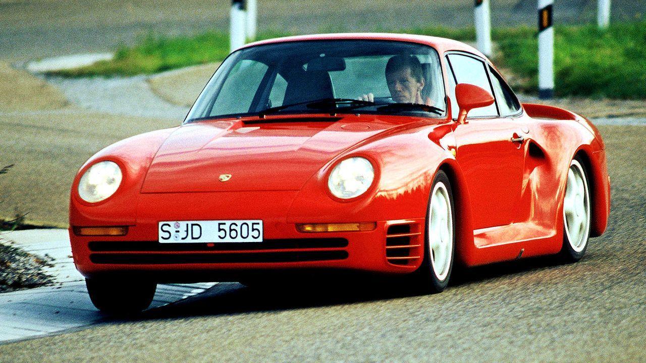 Platz 7: Porsche 959 - Bildquelle: dpa