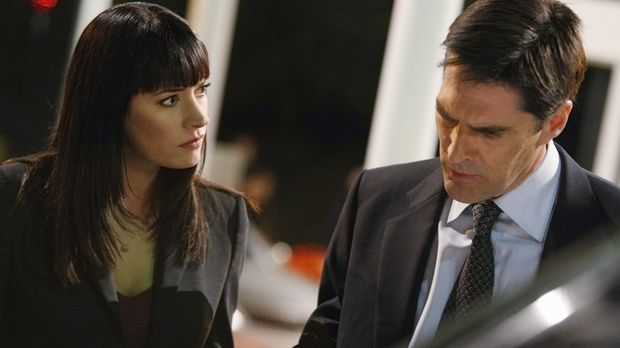 Haben es mit einer besonders brutalen Mordserie zu tun: Prentiss (Paget Brews...