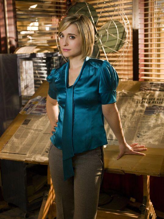 Während Chloes (Allison Mack) Kräfte immer stärker werden, wird sie immer unsicherer, wie sie damit umgehen soll ... - Bildquelle: Warner Bros.