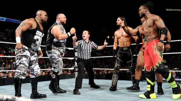 SmackDown vom 2. Oktober © WWE