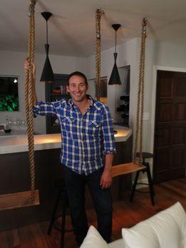 Josh Temple (Foto) möchte das Wohn- und Esszimmer eines jungen Pärchens in nu...
