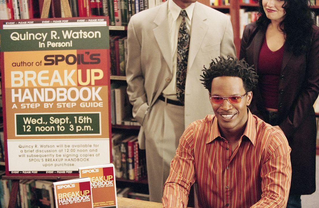 Landet mit seinem Trennungsratgeber auf der Bestsellerliste: Jungredakteur Quincy Watson (Jamie Foxx). - Bildquelle: 2006 Sony Pictures Television International.