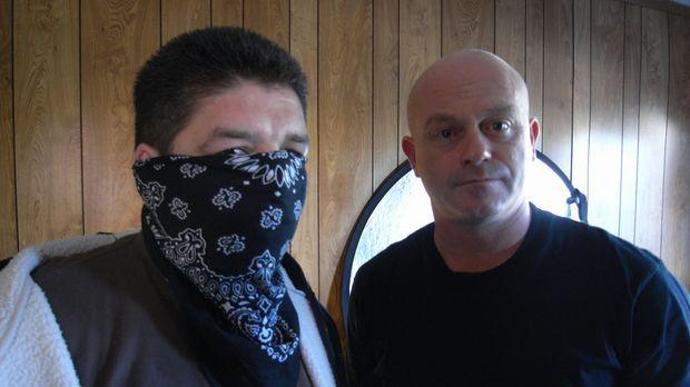 Ross Kemp (r.) trifft in Los Angeles auf ein Ex-Mitglied der mexikanischen Ma...