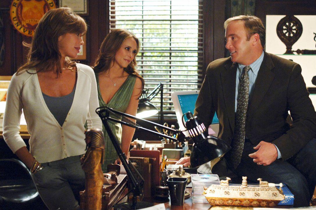 Melinda (Jennifer Love Hewitt, M.) vermittelt zwischen Nina (Nikki Cox, l.) und Rick Payne (Jay Mohr, r.) ... - Bildquelle: ABC Studios