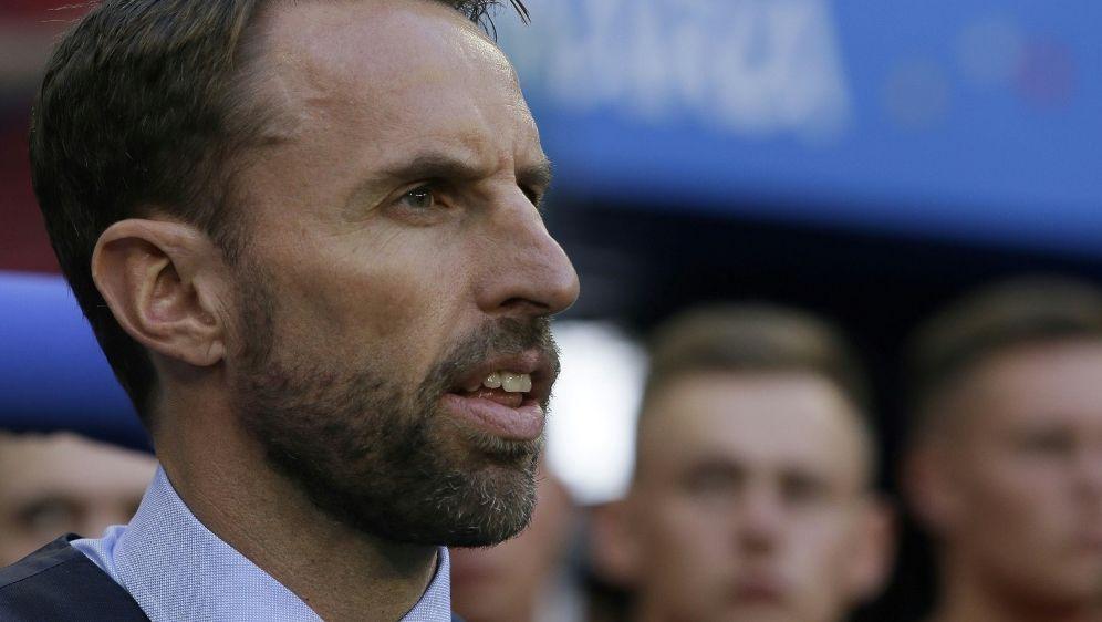 Southgate will zumindest noch Platz drei bei der WM - Bildquelle: FIROFIROSID