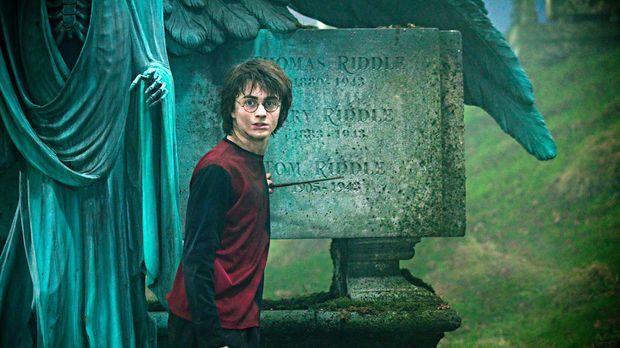 Harry Potter und der Feuerkelch - Harry (Daniel Radcliffe) soll in diesem Jah...