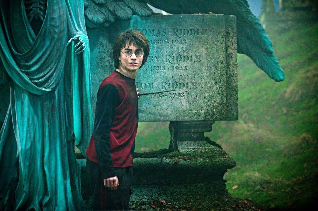 Harry (Daniel Radcliffe) soll in diesem Jahr an einem der gefährlichsten Wettkämpfe der Zauberwelt teilnehmen: das legendäre trimagische Turnier ...... - Bildquelle: 2005 Warner Bros. Ent. Harry Potter Publishing Rights. J.K.R.