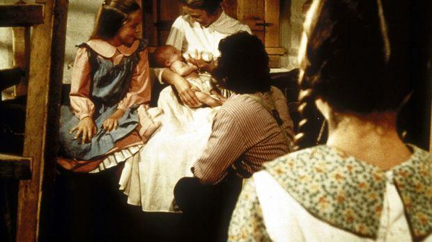 (v.l.n.r.) Mary (Melissa Sue Anderson), Caroline (Karen Grassle) und Charles...