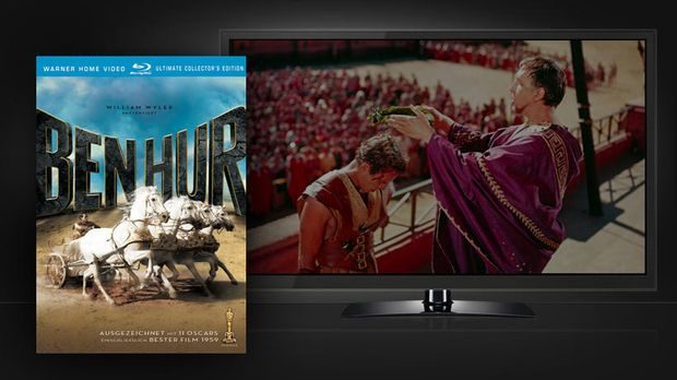 ben-hur-cover-szene-Warner-Home-Video 820 x 461 © Warner Home Video