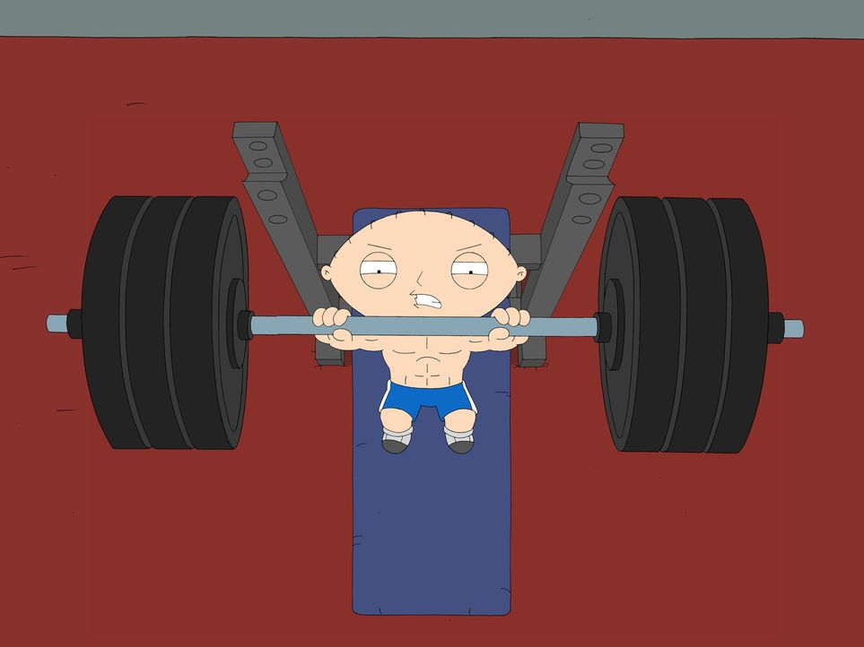 Lässt sie Muskeln spielen: Stewie Griffin - Bildquelle: 2006-2007 Twentieth Century Fox Film Corporation. All rights reserved.