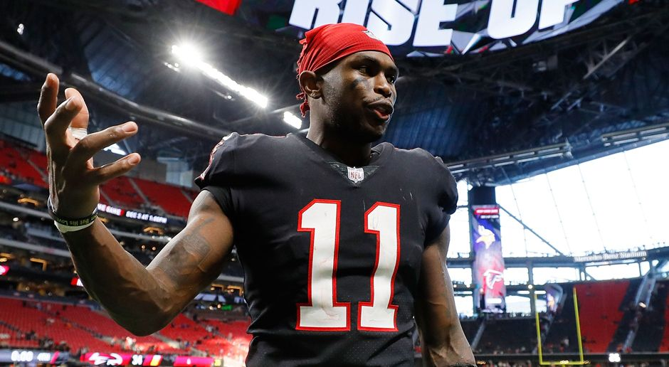 Wide Receiver: Julio Jones - Bildquelle: 2017 Getty Images