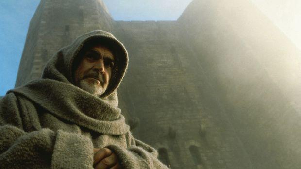 Der Franziskanermönch William von Baskerville (Sean Connery) trifft in einer...