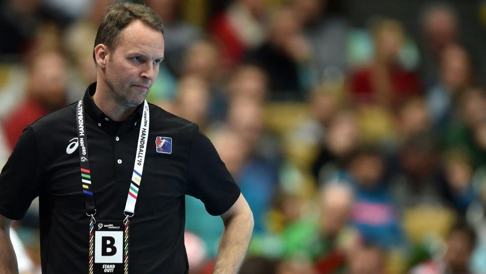 Sigurdsson verlor mit seinem Team auch gegen Kroatien - Bildquelle: AFPSIDCHRISTOF STACHE