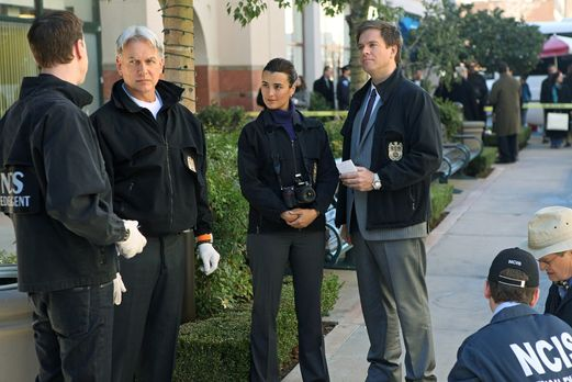 Navy CIS - Ein neuer Fall wartet auf (v.l.n.r.) McGee (Sean Murray), Gibbs (M...
