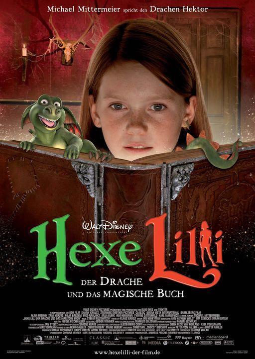 Hexe Lilli - Der Drache und das magische Buch - Plakatmotiv - Bildquelle: Marco Nagel Disney